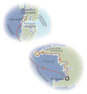 Greenland Iceland Multisport Map